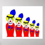 Muñecas rusas de la aleta poster