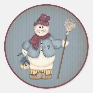 Muñeco de nieve 20 del navidad - pegatinas del día