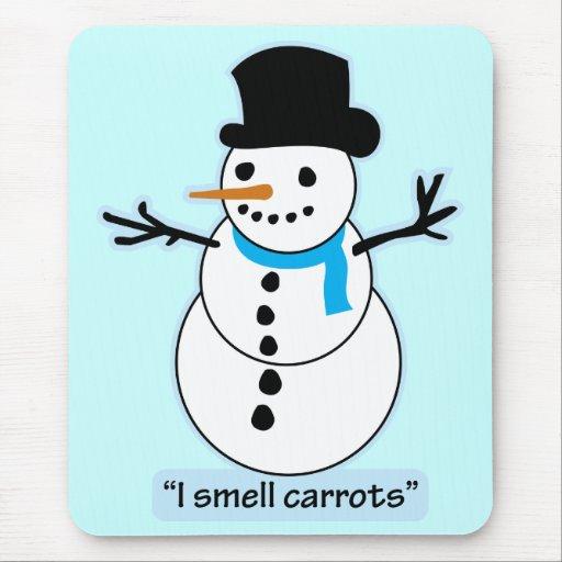 muñeco de nieve alfombrilla de ratones
