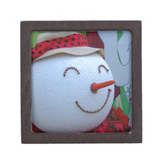 Muñeco de nieve cajas de regalo de calidad