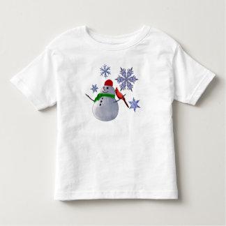 Muñeco de nieve camisas