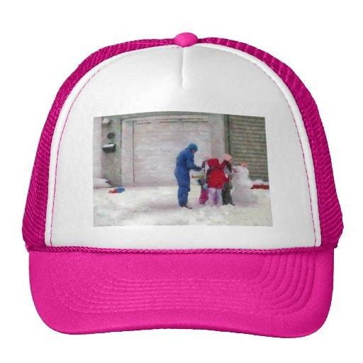 Muñeco de nieve - cirugía reconstructiva gorras