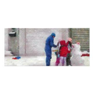 Muñeco de nieve - cirugía reconstructiva lona personalizada