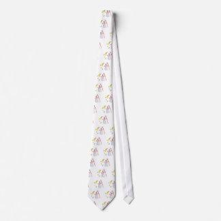 Muñeco de nieve corbata personalizada