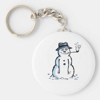 Muñeco de nieve de Chill'n Llavero Personalizado