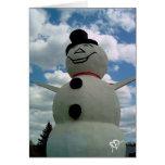 Muñeco de nieve de Minnesota Tarjeta