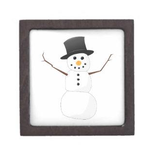 Muñeco de nieve de Navidad Caja De Recuerdo De Calidad