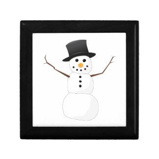 Muñeco de nieve de Navidad Cajas De Regalo