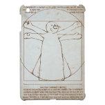 Muñeco de nieve de Vitruvian iPad Mini Funda