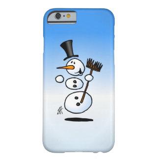 Muñeco de nieve del baile funda barely there iPhone 6