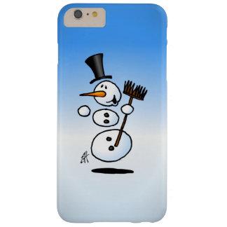 Muñeco de nieve del baile funda barely there iPhone 6 plus