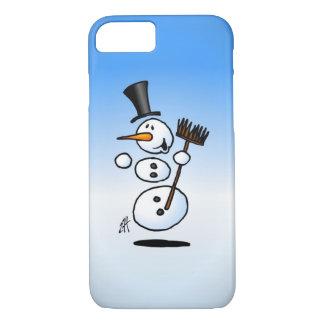 Muñeco de nieve del baile funda iPhone 7
