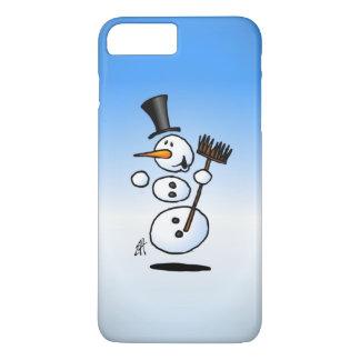 Muñeco de nieve del baile funda iPhone 7 plus
