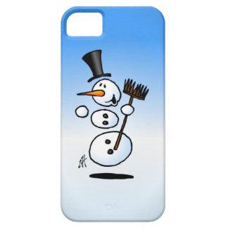 Muñeco de nieve del baile funda para iPhone SE/5/5s
