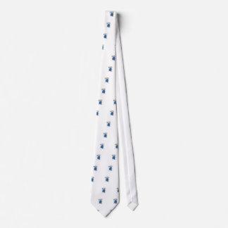 Muñeco de nieve del efecto del vintage del recorte corbata