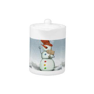 Muñeco de nieve encuadernado Norte de Polo