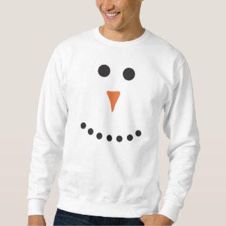 Muñeco de nieve feo del suéter sudaderas