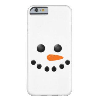 Muñeco de nieve funda de iPhone 6 barely there