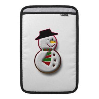 Muñeco de nieve fundas macbook air