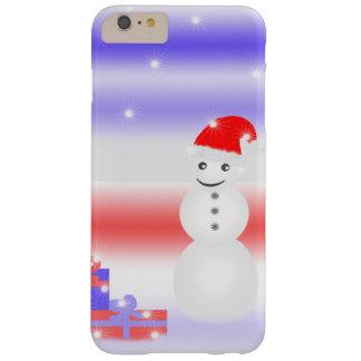 Muñeco de nieve funda de iPhone 6 plus barely there