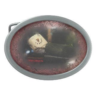 Muñeco de nieve helado rojo de S'Mores de la venta Hebilla Cinturon