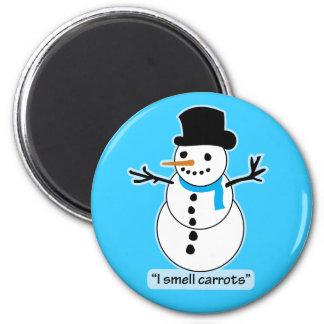 muñeco de nieve imanes para frigoríficos