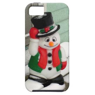 Muñeco de nieve iPhone 5 carcasas