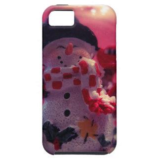 Muñeco de nieve lindo funda para iPhone SE/5/5s