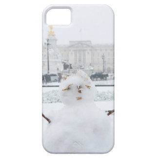Muñeco de nieve Londres del Buckingham Palace iPhone 5 Fundas