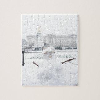 Muñeco de nieve Londres del Buckingham Palace Rompecabezas Con Fotos