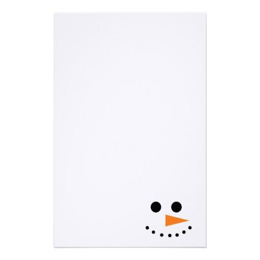 Muñeco de nieve papeleria