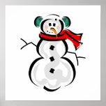Muñeco de nieve poster