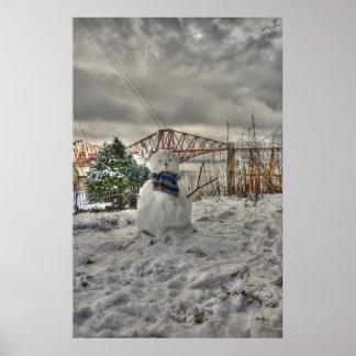 Muñeco de nieve póster