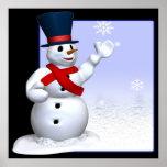 Muñeco de nieve posters