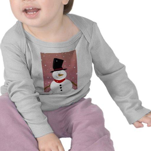 Muñeco de nieve - rojo