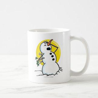 Muñeco de nieve tazas