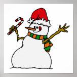 Muñeco de nieve tonto posters