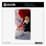 Muñeco de nieve y gnomo iPhone 4S skins