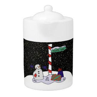 Muñeco de nieve y Polo Norte -