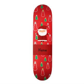 Muñecos de nieve conocidos personalizados del rojo patines