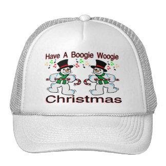 Muñecos de nieve del navidad de Woogie de la Gorro
