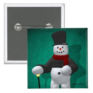 Muñecos de nieve del vintage: Señor Cool Pin