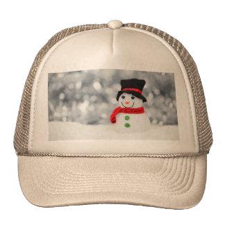 Muñecos de nieve gorra