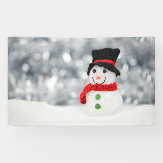 Muñecos de nieve lona