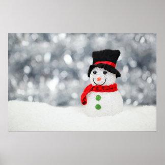 Muñecos de nieve impresiones