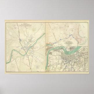 Munfordville, campo Nelson, Louisville, KY Póster