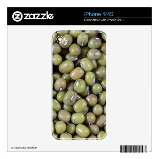 Mung Beans iPhone 4S Skins