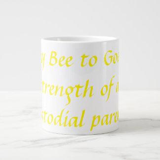 Mung Strength Of A Non Custodial Parent Giant Coffee Mug