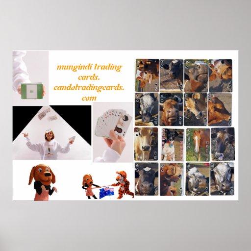mungindi trading cards/candotradingcards.com poster