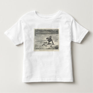 Mungo Park (1771-1806) encouraged by the sight of T-shirt